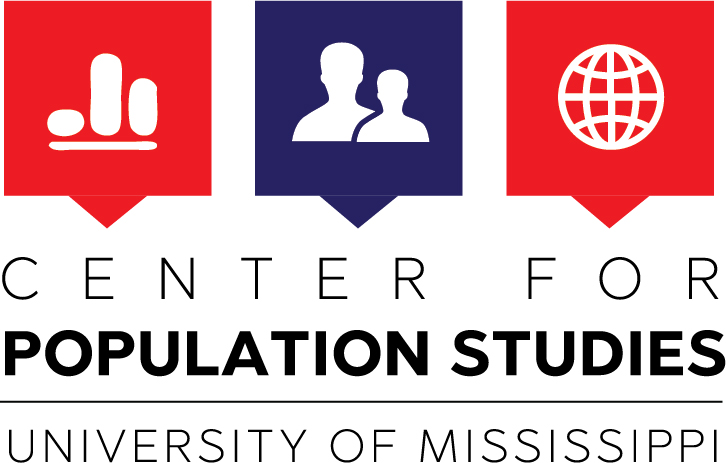 University of Mississippi Center for Population Studies logo